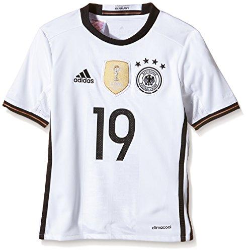 adidas DFB Home Jersey Youth Götze, Todo el año, Infantil, Color Blanco - Blanco, tamaño 17 años (176 cm)