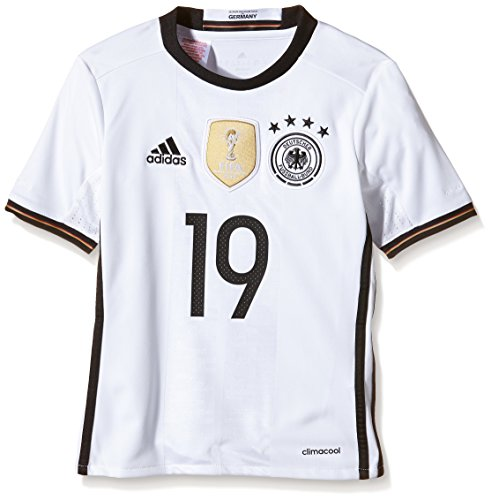 adidas Kinder Trikot DFB Home Jersey Youth Götze, White, 164