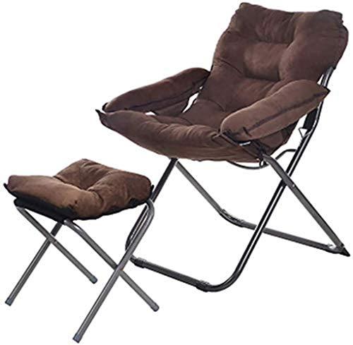 Balancelle Chaises longues Lazy Sofa Lounge Chair Fauteuil Chaise pliante Déjeuner Chaise Portable extérieur Pêche Canapé Dans 21 Styles Tissu Chaise de pêche xiuyun (Color : G, Size : 3)