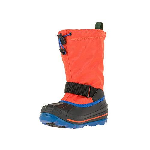 Kamik Unisex Waterbug8g chłopięce buty zimowe, pomarańczowe (pomarańczowe), 37 EU (5 US)