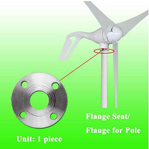 MEIGONGJU verzinktem Stahl Flansch für Montage Pole, Flansch Sitz des Windturbinen-Generatoren Wind Generator Zubehör,1kw