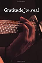 guitar Gratitude Journal : Daily Writing Today I am grateful for...: Notebook 6-9 120 PAGE