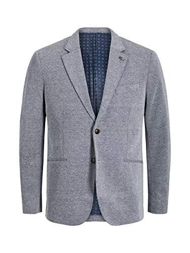 JACK & JONES Jprsimon Blazer Noos, Blu (Chambray Blue Slim Fit), 58 (Taglia Produttore: 52) Uomo