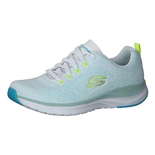 Skechers Ultra Groove - Zapatillas deportivas para mujer, color Blanco, talla 35.5 EU