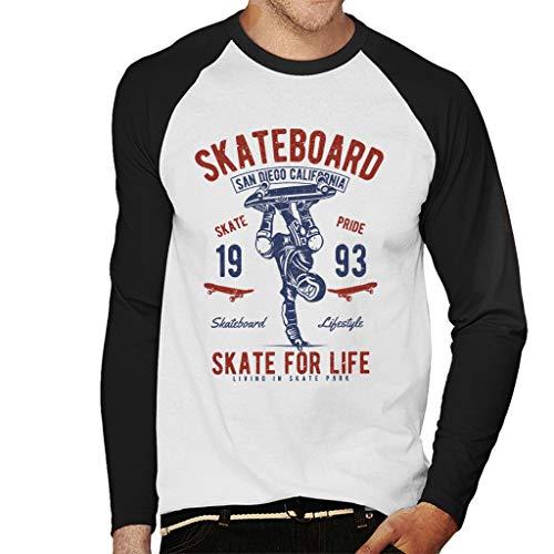 Le t-shirt à manches longues pour fan de skate