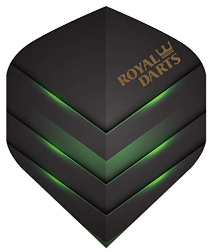 Royal Darts Flights Professional (5 Sets (15 Flights), Grün)
