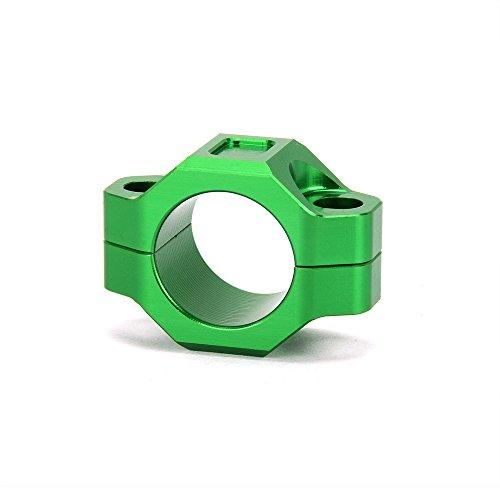 JFG Racing CNC Plaque de montage pour guidon de 2,22 cm Vert