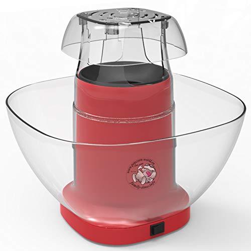 Family Time - Popcorn-Automat mit Airpop ohne Fett + Behälter + Messbecher...
