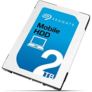 "Seagate 2TB Mobile HDD 2.5"" SATA Laptop Hard Drive (7mm, 128MB Cache)"