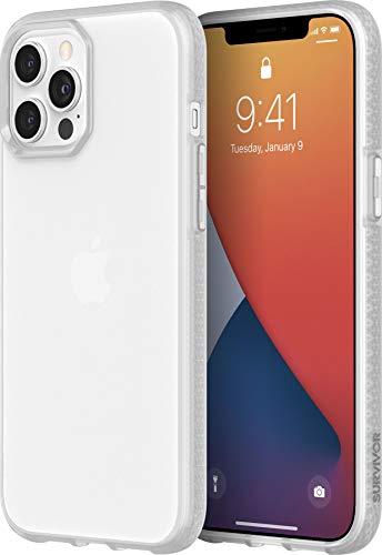 Griffin Technology Survivor Clear GIP-052-CLR - Carcasa Protectora para iPhone 12 Pro MAX, Transparente