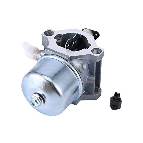 love lamp Carburador Carburador Profesional Overhead CAM Motor de carburador for Briggs & Stratton 699831 694941 Segadora Tractor Carb Engine (Color : Silver)