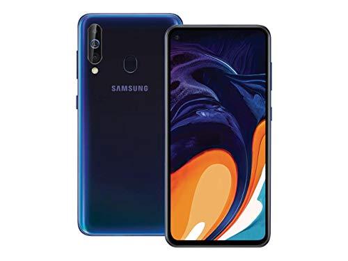 Samsung Galaxy A60 (A606Y/DS) Dual SIM 128GB/ 6GB RAM 6.3-inches, Factory Unlocked, GSM International - Daybreak Black