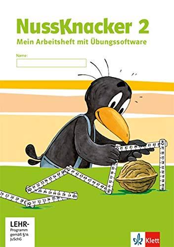 Der Nussknacker - Neue Ausgabe für Hessen, Rheinland-Pfalz, Baden-Württemberg, Saarland / Arbeitsheft mit CD-ROM 2. Schuljahr
