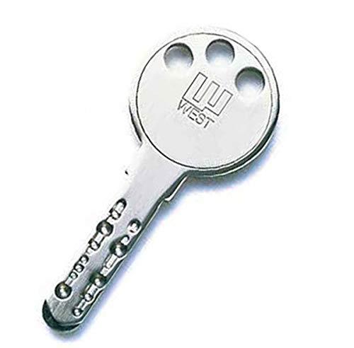 WEST ディンプルシリンダー 合鍵
