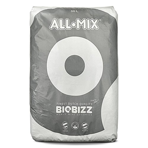 BioBizz All-Mix Sac Terreau Mélange d'Empotage Complet, Transparent, 50 L