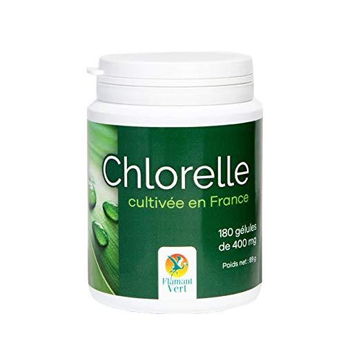 Flamant Vert - Chlorelle Cultivee En France 180 Gelules Flamant Vert