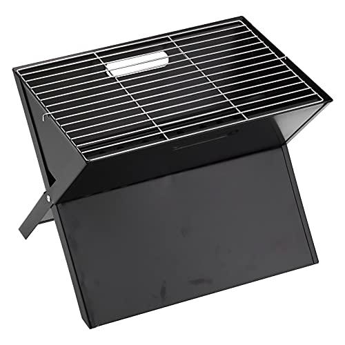 Duokon Parrilla De Carbón para Barbacoa, Parrilla De Carbón Plegable Portátil En Forma De X para Cocinar Al Aire Libre, Acampar, Senderismo, Picnic