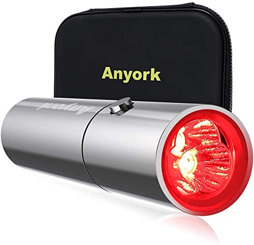 Anyork Red Light Device,Deep Red 660nm and 850nm Wavelength LED Red Light Device