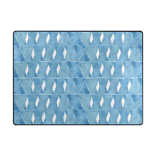 MALPLENA Unique Aquarelle Zone Tapis antidérapant Pad Moyen d'entrée Paillasson Tapis de Sol Chaussures Grattoir, Polyester, 1, 63 x 48 inch