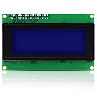 Vbestlife LCD Display Module, LCD Display Module with IIC / I2C Interface Support for GND, VCC, SDA, SCL