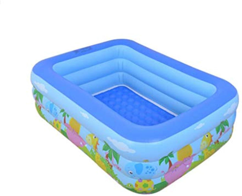 HQCC Schwimmbecken dick aufblasbare Baby Schwimmbecken Kinderheim Pool (blau) 5 Gren zur Auswahl