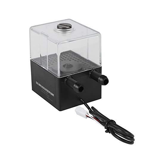 Tonysa fluisterstille computer waterpompset, PC CPU waterkoelingspomp, Ultrastille waterkoeling pompset voor pc waterkoeling met mini 3P stroomaansluiting/hoge kwaliteit