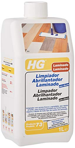 HG 4640030 - Limpiador Abrillantador Laminado Uso Diario, Mango, Envase de 1 L