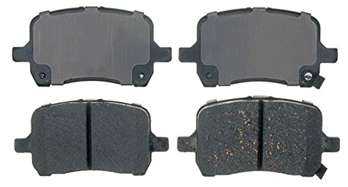 ACDelco 14D1160CH Advantage Ceramic Front Disc Brake Pad Set with Hardware