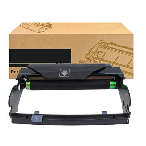 Compatible con Unidad de Tambor Lexmark E260 E260X22G, Adecuado para Lexmark E260D E260DN E360D E360DN E460DN E460DW E462DTN Cartucho de tóner de Impresora láser-Negro