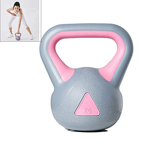 Pesa Rusa Pesas Kettlebell Fitness Body Building Family Muscle Strength Training Gym Mancuernas para Hombres Y Mujeres 2kg-8kg,2KG