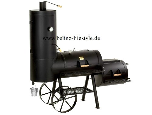 "41Bkc UWYrL - Joe's Barbeque Smoker 16"" Chuckwagon"