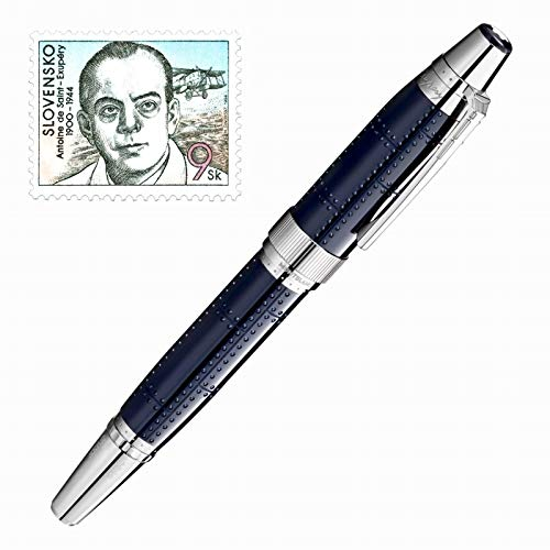 MONTBLANC ROLLER WRITERS EDITION ANTOINE DE SAINT-EXUPERY LIMITED EDITION 116110