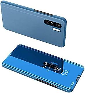 مرآة كلير فيو (الغسيل، غير ذكية لهواوي P30 برو ) – أزرق