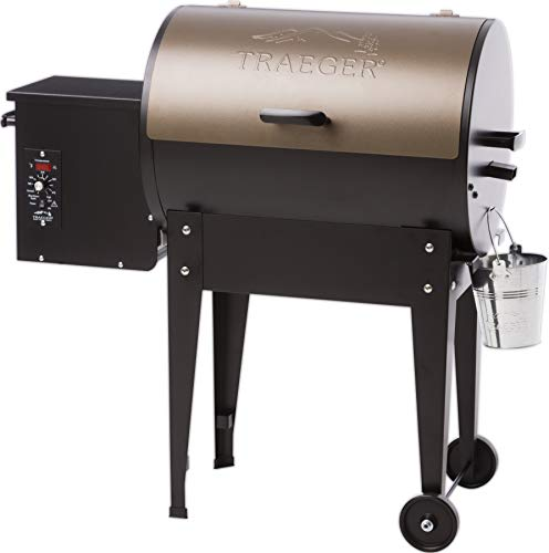 Traeger TFB29LZA Junior Elite Wood Pellet Grill and Smoker - Grill, Smoke, Bake, Roast, Braise, and...