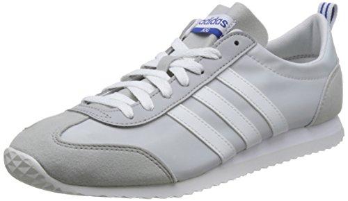 adidas Vs Jog, Zapatillas de Running para Hombre, Gris (Greone/Crywht/Gretwo 000), 49 1/3 EU
