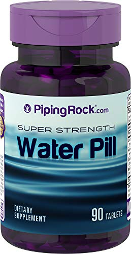 Water Pill, 90 Tablets Bottle, with Potassium (K), Retention Fast Free P&P