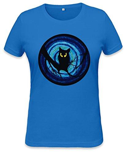 Evil Owl Illustration Womens T-shirt Small