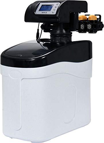 YATO Profi Wasserenthärtungsanlage mit Bypass | 500l/h | 15kg Salzbehälter | Digitales Display | Entkalker Wasser Enthärter Enthärtungsanlage