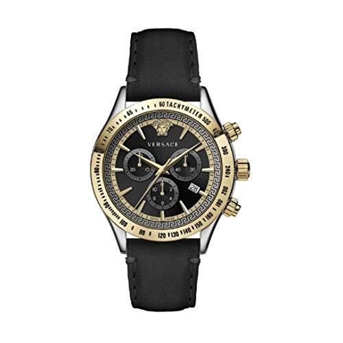 Versace Herren Armbanduhr Chrono Class.44 D/BLK S/BLK BI V302 VEV7002 19