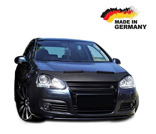 Black Bull Haubenbra für VW Golf 5 Jetta 5 CLEAN Steinschlagschutz Motorhaubenschutz Automaske