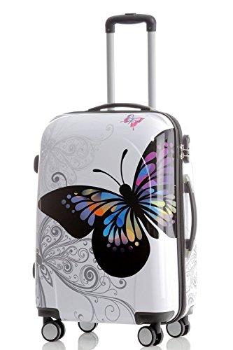 Carcasa rígida de policarbonato 2060Trolley Maleta conjunto de equipaje de viaje Beuty caso de 3o conjunto de 4en 12diseños