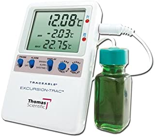 Thomas 6430 Traceable Excursion-Trac Datalogging Thermometer, 1 Bottle Probe