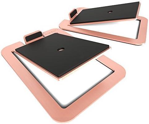 Kanto S4 Desktop Speaker Stands for Midsize Speakers   Copper   Pair