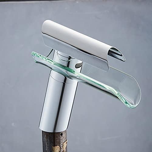 ZHOUCHENPQ Outils Robinets de Cuisine Cuisine Blanche Robinet Robinet Tap Tap Simple Trou Poiser Mélangeur Eau Tapis (Color : White)