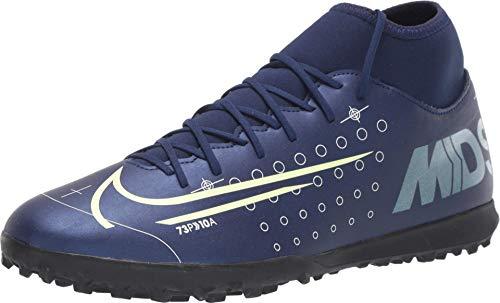 Nike Superfly 7 Club MDS TF, Botas de fútbol Unisex Adulto, Multicolor (Blue Void/Barely Volt/White/Black 401), 41 EU