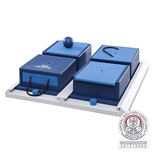 Trixie 32012 Dog Activity Poker Box 1, 31 × 31 cm ,blau