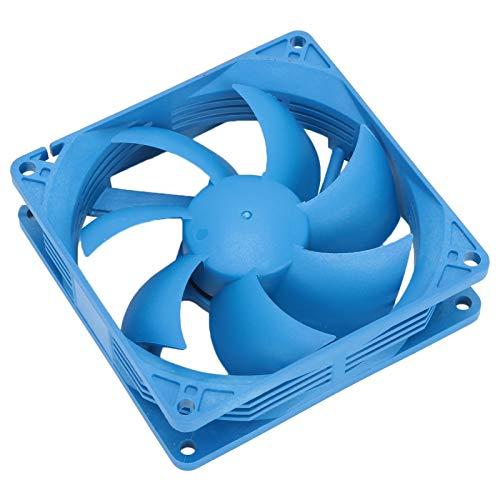 Ventilador de refrigeración silencioso para caja de PC, hardware F90 Ventilador de disipador de calor para computadora con fugas de aceite de bajo ruido a prueba de polvo, para la mayoría de los