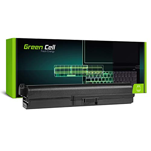 Green Cell® Extended Serie PA3817U-1BRS Laptop Akku für Toshiba Satellite C650 C650D C655 C660 C660D C670 C670D L750 L750D L755 (9 Zellen 6600mAh 10.8V Schwarz)
