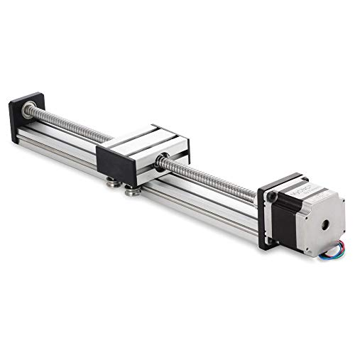 400mm Travel Length Linear Stage Actuator DIY CNC Router Parts X Y Z Linear Rail Guide Sfu1605 Nema23 Stepper Motor by Beauty Star