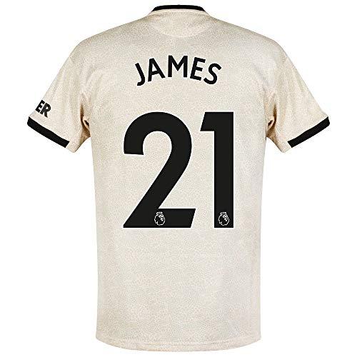 adidas Man Utd Away James 21 Trikot 2019-2020 (Official Premier League Beflockung) - XXXL